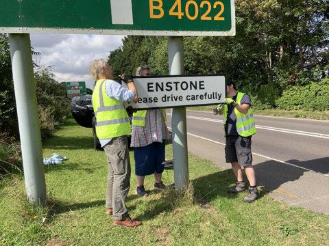 Enstone Village Signs